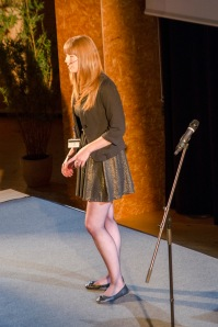 Me on stage for the LHComedy performance - 30th August 2014.