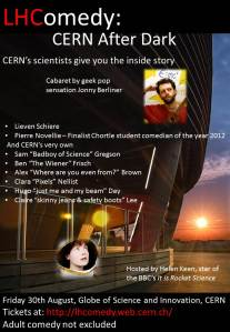 LHComedy: CERN After Dark
