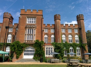 Cumberland Lodge, the beautiful setting for the course.