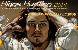 Cropped version of the Higgs Hunting Conference Poster.