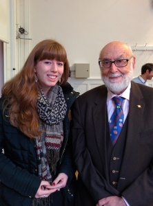 Photo with Prof. Englert